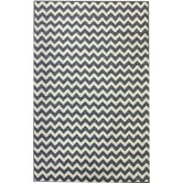 Allure Chevron Light Blue Rug