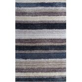 Cine Blue Multi Striped Rug