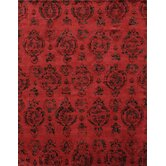 Zem Fire Engine Red Katelyn Rug