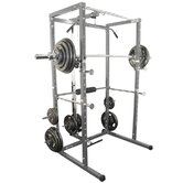 BD-7 Power Rack with Lat Pull