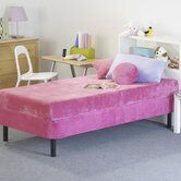 Kids Memory Foam Mattress with Water Proof Cover in Pink
