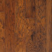 "Rio Handscraped 4-9/10"" Engineered American Hickory in Bourbon"