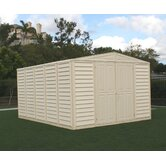 WoodBridge Vinyl Storage Shed