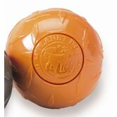 Orbee-Tuff Diamond Plate Orbee Ball Dog Toy in Orange