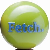 Orbee-Tuff Fetch Ball with Rope Dog Toy