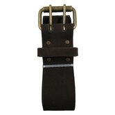 "Extra Long 2"" Work Belt with Double Prong Roller Buckle"