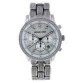Women's Showstopper Glitz Watch with Mother of Pearl Chronograph Dial