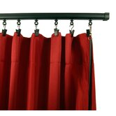 Adjustable Curtain Track in Black