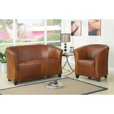 Seattle Bonded PU Leather Tub Chair