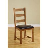 Chateau Ladder Back Dining Chair in Rich Oak