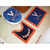 Virginia Cavaliers 3 Piece Bath Rugs