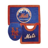 New York Mets 3 Piece Bath Rugs