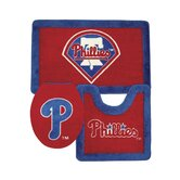 Philadelphia Phillies 3 Piece Bath Rugs