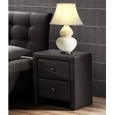 Hamilton 2 Drawer Nightstand