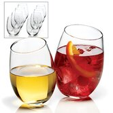 8 Piece Stemless Wine Glasses