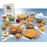 Anchor Hocking 50 Piece Expressions Deluxe Ovenware Set