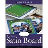 Satin Board Inkjet Papers (Set of 20)