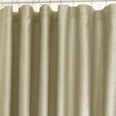 Ottoman Rib Shower Curtain in Oat