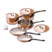 M'Heritage Stainless Steel 8-Piece Cookware Set
