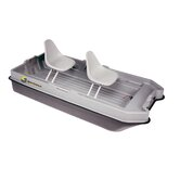 8.5' Sportsman Bass Boat in Gray / Black