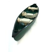 Water Quest 156 Square Stern Canoe in Green / Green