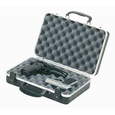 Deluxe 2-Pistol Case with Two Key Locks in Black