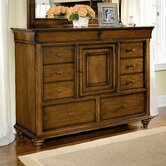 Shenandoah Valley 10 Drawer Combo Dresser