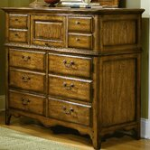 Blue Ridge Retreat 6 Drawer Media Bureau Dresser