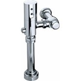 Touchless DC 0.5 GPF Washout Urinal Flushometer in Polished Chrome