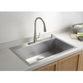 Vault Undermount Large Single Kitchen Sink