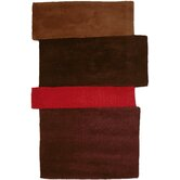 Hand Tufted Sliding Red Rug