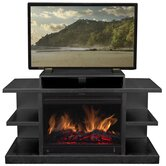"Shelby 46"" TV Stand with Electric Fireplace"
