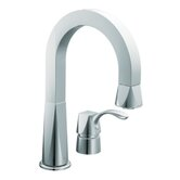 Divine One Handle Widespread High Arc Pullout Bar Faucet