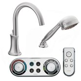 Icon High Arc Roman Tub Faucet with Hand Shower
