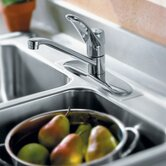 Chateau One Single Centerset Kitchen Faucet with Loop Handle