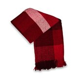 Scotch Chenille Throw in Red