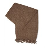Royal Chenille Throw in Mocha