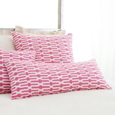 Bright Stuff Links Double Boudoir Decorative Pillow in Pink