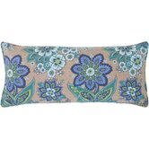 Shalini Double Boudoir Pillow in Bluemarine