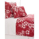 Kiyoko Duvet Cover in Red