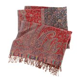 Vanhi Paisley Throw