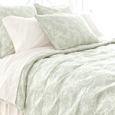 Batik Blossom Duvet Cover and Shams in Oceanic