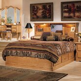 Country Heirloom Bookcase Bedroom Collection