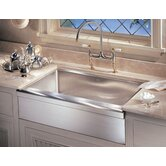 Manor House 36&quot; Stainless Steel Apron Front Kitchen Sink
