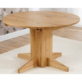 Monte Carlo Round Solid Oak Dining Table