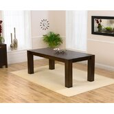 Madrid Solid Oak Dark Dining Table