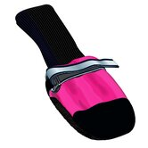 Fleece-Lined Dog Boots in Pink (Set of 4)
