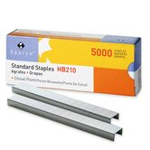 "Standard Staples, Chisel Point, 1/2"" W, 1/4""L, 210 Strip"