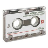 Dictation Cassette, Micro, 60 Minute