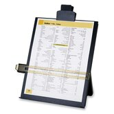 "Easel Document Holders, Adjustable, 10-3/8""x2-1/4""x12-1/2"", BK"
